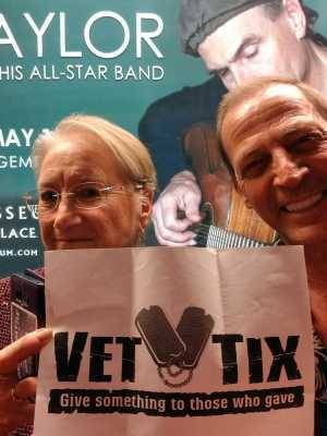 Adrienne attended James Taylor and His All-star Band - Pop on Apr 20th 2019 via VetTix