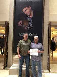 Cindi attended James Taylor and His All-star Band - Pop on Apr 20th 2019 via VetTix