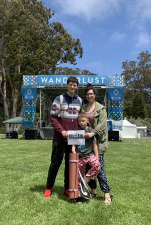 DANNY attended Wanderlust Festival - Yoga, Meditation, Inspirational Speakers, Fitness, Music + More - 2 Day Passes on May 4th 2019 via VetTix