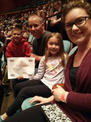 Jason attended Darci Lynne and Friends: Fresh out of the Box on May 19th 2019 via VetTix