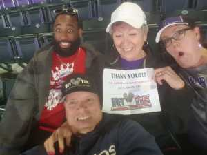 Clinton attended Colorado Rockies vs. Arizona Diamondbacks - MLB on May 3rd 2019 via VetTix