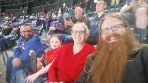 Adrian attended Colorado Rockies vs. Arizona Diamondbacks - MLB on May 3rd 2019 via VetTix