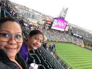 Alvis  attended Colorado Rockies vs. Arizona Diamondbacks - MLB on May 3rd 2019 via VetTix