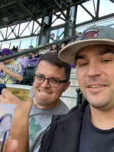 Neil attended Colorado Rockies vs. Arizona Diamondbacks - MLB on May 3rd 2019 via VetTix