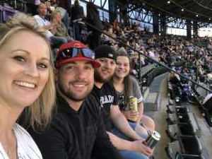 Nathan attended Colorado Rockies vs. Arizona Diamondbacks - MLB on May 3rd 2019 via VetTix