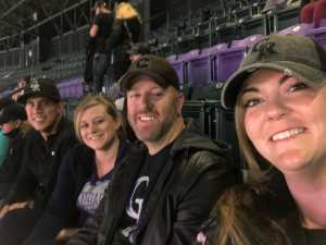 Kyle  attended Colorado Rockies vs. Arizona Diamondbacks - MLB on May 3rd 2019 via VetTix