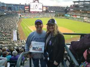 Shane attended Colorado Rockies vs. Arizona Diamondbacks - MLB on May 3rd 2019 via VetTix