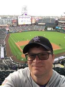 Dennis attended Colorado Rockies vs. Arizona Diamondbacks - MLB on May 3rd 2019 via VetTix