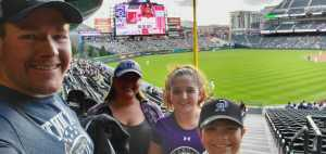 Andrew attended Colorado Rockies vs. Arizona Diamondbacks - MLB on May 3rd 2019 via VetTix