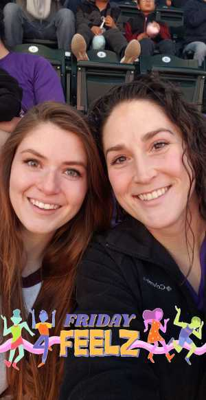 Kelly attended Colorado Rockies vs. Arizona Diamondbacks - MLB on May 3rd 2019 via VetTix