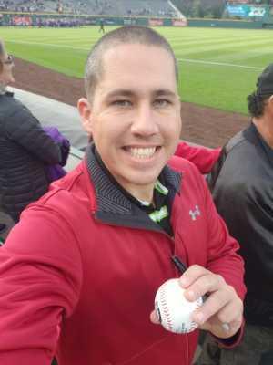 Juan attended Colorado Rockies vs. San Diego Padres - MLB on May 10th 2019 via VetTix