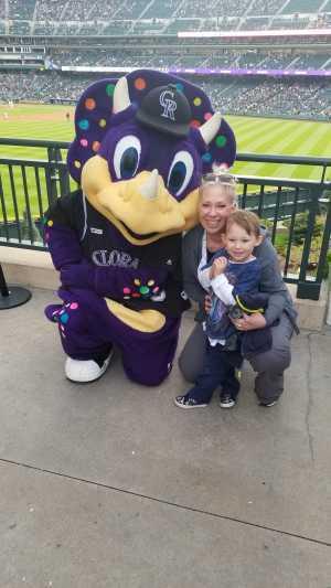 Ashleigh attended Colorado Rockies vs. San Diego Padres - MLB on May 10th 2019 via VetTix