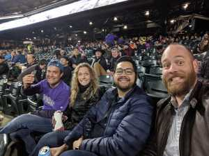 Brent attended Colorado Rockies vs. San Diego Padres - MLB on May 10th 2019 via VetTix