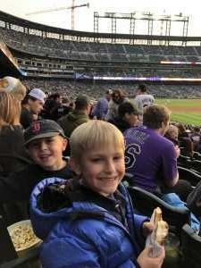 Nick attended Colorado Rockies vs. San Diego Padres - MLB on May 10th 2019 via VetTix