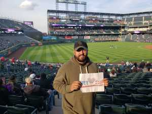 Christopher attended Colorado Rockies vs. San Diego Padres - MLB on May 10th 2019 via VetTix