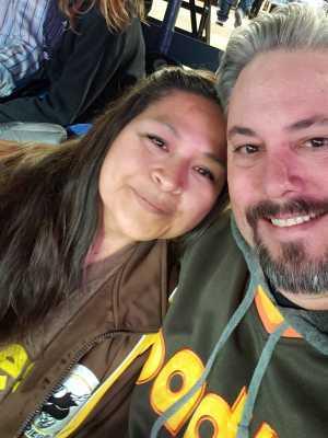 Geoff attended Colorado Rockies vs. San Diego Padres - MLB on May 10th 2019 via VetTix