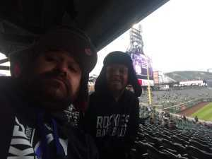 Patrick attended Colorado Rockies vs. San Diego Padres - MLB on May 10th 2019 via VetTix