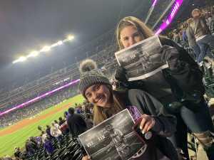 Sheryl attended Colorado Rockies vs. San Diego Padres - MLB on May 10th 2019 via VetTix