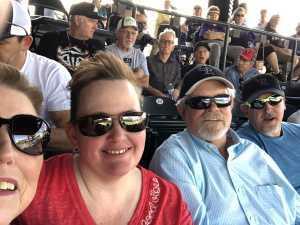 ROBERT attended Colorado Rockies vs. San Francisco Giants - MLB on Jul 15th 2019 via VetTix