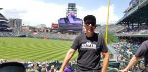 Darlynn attended Colorado Rockies vs. San Francisco Giants - MLB on Jul 15th 2019 via VetTix