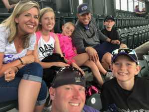 Richard attended Colorado Rockies vs. San Francisco Giants - MLB on Jul 15th 2019 via VetTix