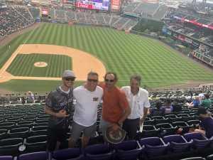 Kirk attended Colorado Rockies vs. San Francisco Giants - MLB on Jul 15th 2019 via VetTix