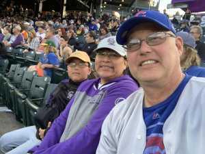 Sean attended Colorado Rockies vs. San Francisco Giants - MLB on Jul 15th 2019 via VetTix