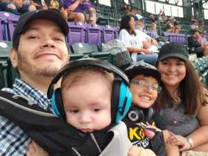 Thomas attended Colorado Rockies vs. San Francisco Giants - MLB on Jul 15th 2019 via VetTix