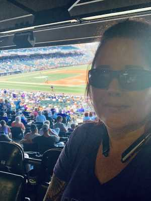 sonia attended Colorado Rockies vs. San Francisco Giants - MLB on Jul 15th 2019 via VetTix