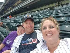 Shane  attended Colorado Rockies vs. San Francisco Giants - MLB on Jul 15th 2019 via VetTix
