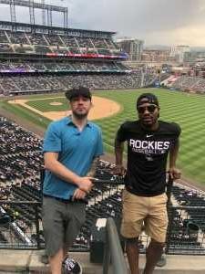 William attended Colorado Rockies vs. San Francisco Giants - MLB on Jul 15th 2019 via VetTix