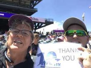 Darwin attended Colorado Rockies vs. San Francisco Giants - MLB on Jul 15th 2019 via VetTix