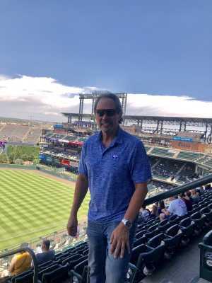Lawrence attended Colorado Rockies vs. San Francisco Giants - MLB on Jul 15th 2019 via VetTix