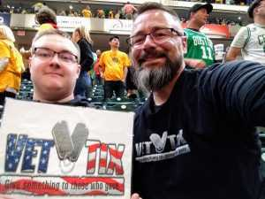 Andrew attended Indiana Pacers vs. Boston Celtics Round 1 Game 4 - NBA Playoffs on Apr 21st 2019 via VetTix
