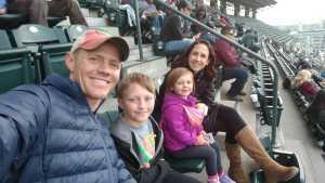 James attended Colorado Rockies vs. Arizona Diamondbacks - MLB on May 29th 2019 via VetTix