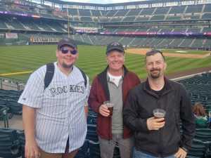 Aaron attended Colorado Rockies vs. Arizona Diamondbacks - MLB on May 29th 2019 via VetTix