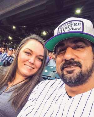Jeremy attended Colorado Rockies vs. Arizona Diamondbacks - MLB on May 29th 2019 via VetTix