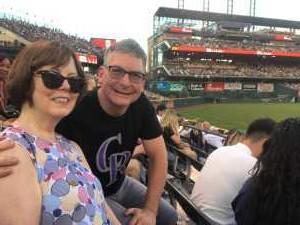 David attended Colorado Rockies vs. Arizona Diamondbacks - MLB on May 29th 2019 via VetTix