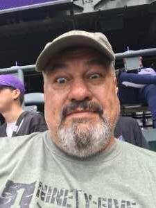 Joseph attended Colorado Rockies vs. Arizona Diamondbacks - MLB on May 29th 2019 via VetTix