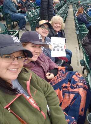 JoAnn attended Detroit Tigers vs. Kansas City Royals - MLB on May 3rd 2019 via VetTix