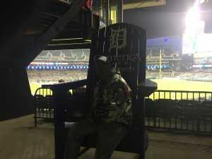 Leslie attended Detroit Tigers vs. Kansas City Royals - MLB on May 3rd 2019 via VetTix
