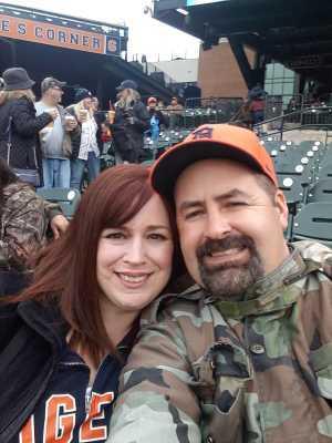 Darin attended Detroit Tigers vs. Kansas City Royals - MLB on May 3rd 2019 via VetTix