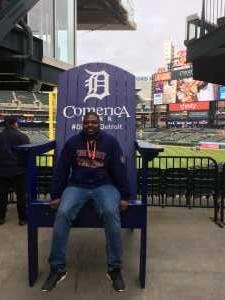 Marcus attended Detroit Tigers vs. Kansas City Royals - MLB on May 3rd 2019 via VetTix