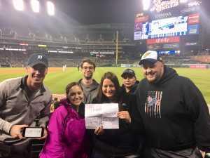 Anthony attended Detroit Tigers vs. Kansas City Royals - MLB on May 3rd 2019 via VetTix