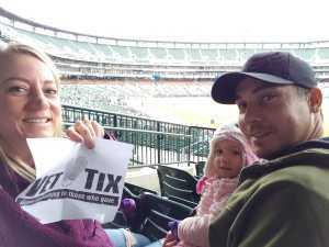 Autumn attended Detroit Tigers vs. Kansas City Royals - MLB on May 3rd 2019 via VetTix