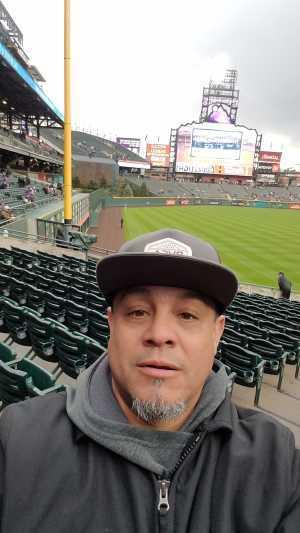 Aaron attended Colorado Rockies vs. San Francisco Giants - MLB on May 7th 2019 via VetTix