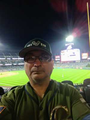 Kenneth E Salinas attended Colorado Rockies vs. San Francisco Giants - MLB on May 7th 2019 via VetTix