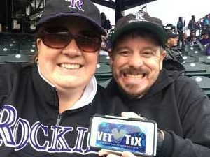 John attended Colorado Rockies vs. San Francisco Giants - MLB on May 7th 2019 via VetTix
