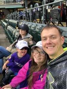 Christopher attended Colorado Rockies vs. San Francisco Giants - MLB on May 7th 2019 via VetTix