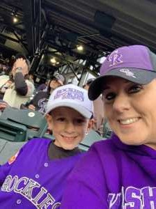 Michelle attended Colorado Rockies vs. San Francisco Giants - MLB on May 7th 2019 via VetTix
